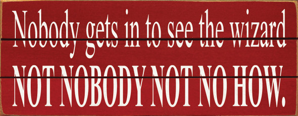 Shown in Old Red with Cottage White lettering