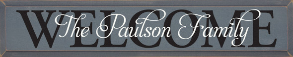 Available in Old Slate with Black & Cottage White
