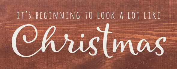 It's beginning to look a lot like Christmas | Sawdust City Wood Signs