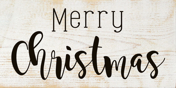 Merry Christmas (farmhouse) | Sawdust City Wood Signs