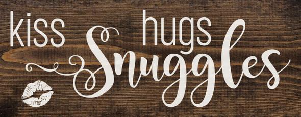 kiss, hugs, snuggles