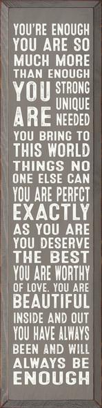 You're Enough... (Vertical)