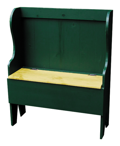 Shown in Old Green with Stained seat