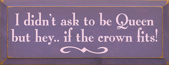 Shown in Old Purple with Baby Pink lettering