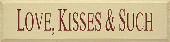 Shown in Old Cream with Burgundy lettering