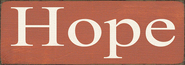 Shown in Old Paprika with Cream lettering