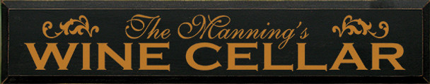 Shown in Old Black with Gold lettering