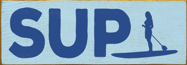 Shown in Old Baby Blue with Royal lettering