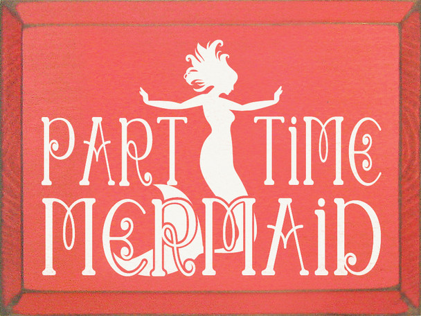 Shown in Old Coral with Cottage White lettering