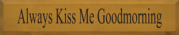 Shown in Old Gold with Black lettering
