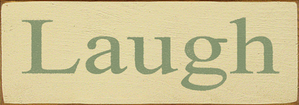 Shown in Old Cream with Sage lettering