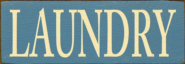 Shown in Old Williamsburg Blue with Baby Yellow lettering