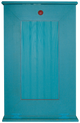 Shown in custom paint style Old Turquoise and Old Red