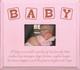 Beveled Edge Frame in Old Baby Pink & Paprika