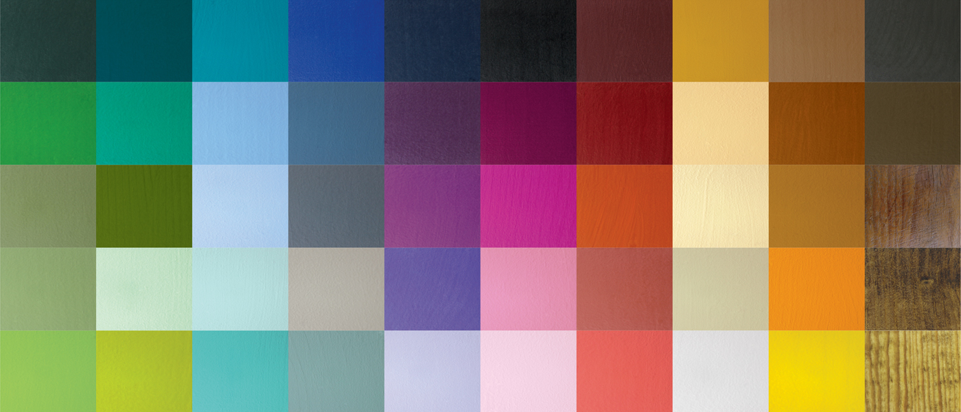 Vast Selection of Colors