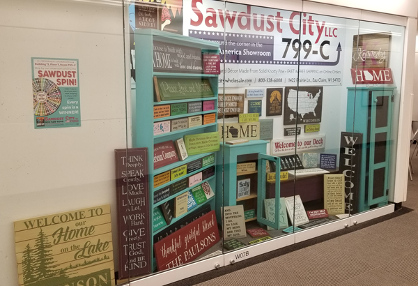 Sawdust City Preview Window at Atlanta AmericasMart