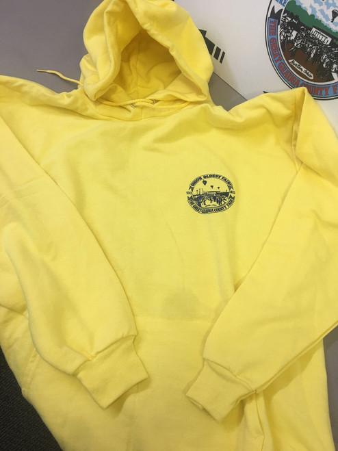 Yellow Geauga Fair Hoodie Sweatshirt