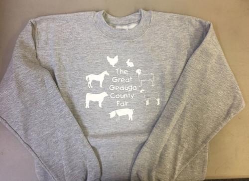 Youth Sweatshirt in Grey