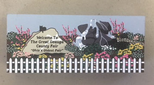 Cat's Meow Welcome Garden at The Great Geauga County Fair