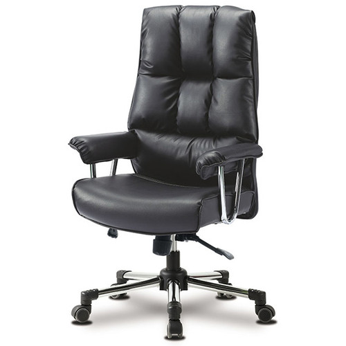 KLIIG FIRST CLASS (The most comfortable and popular thick and cushy boss chair for office and homes. > 120 kg ok.)