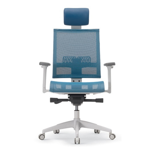 KLIIG LV FULL MESH OFFICE CHAIR (Fully featured full mesh chair with advanced lumbar support, sliding seat pan, adjustable 3D arms and Easy Glide)