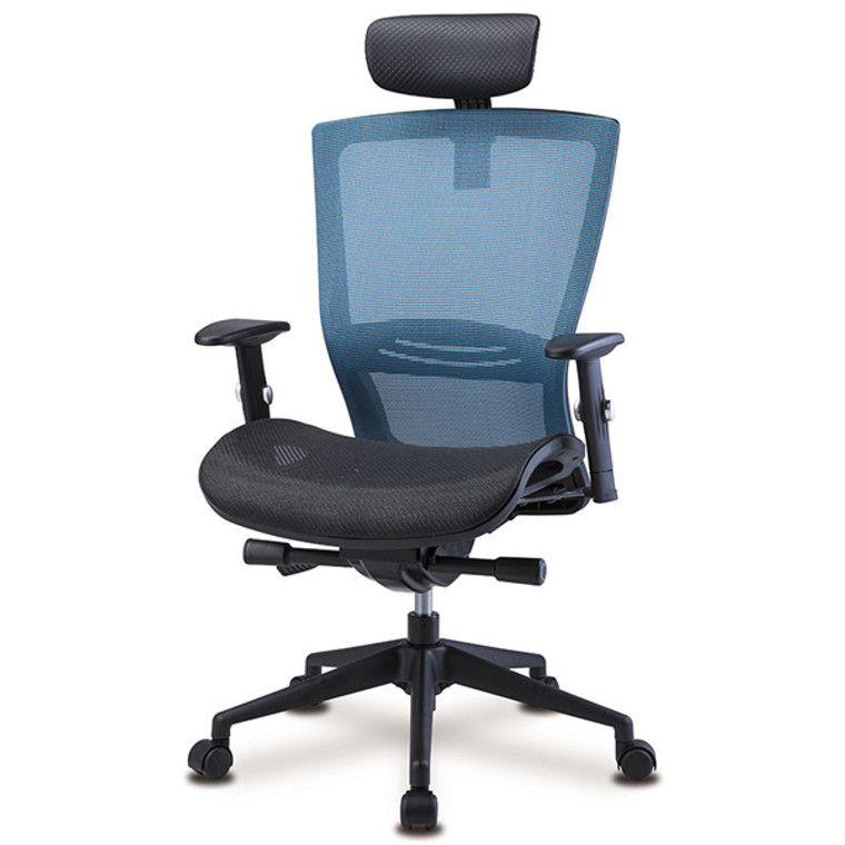 KLIIG FULL MESH OFFICE CHAIR (If you want the most comfortable and coolest full mesh chair with excellent lumbar support. Fully featured including sliding seat pan etc.)