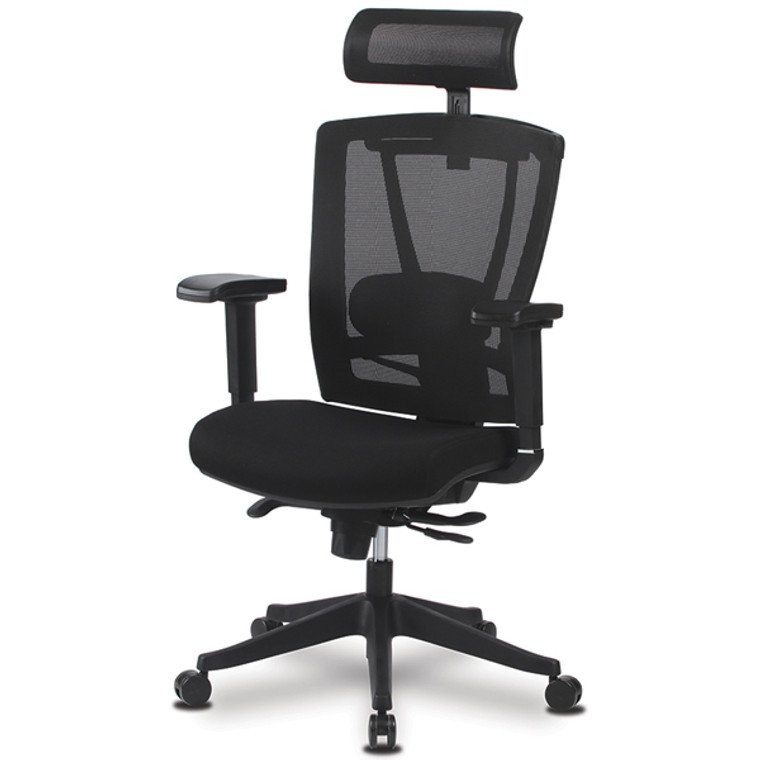 KLIIG KING MESH  OFFICE CHAIR (Our most comfortable, fully-customisable mesh chair suitable for all body types from small to > 100 kg. If you want the best mesh chair money can buy, this is it!)