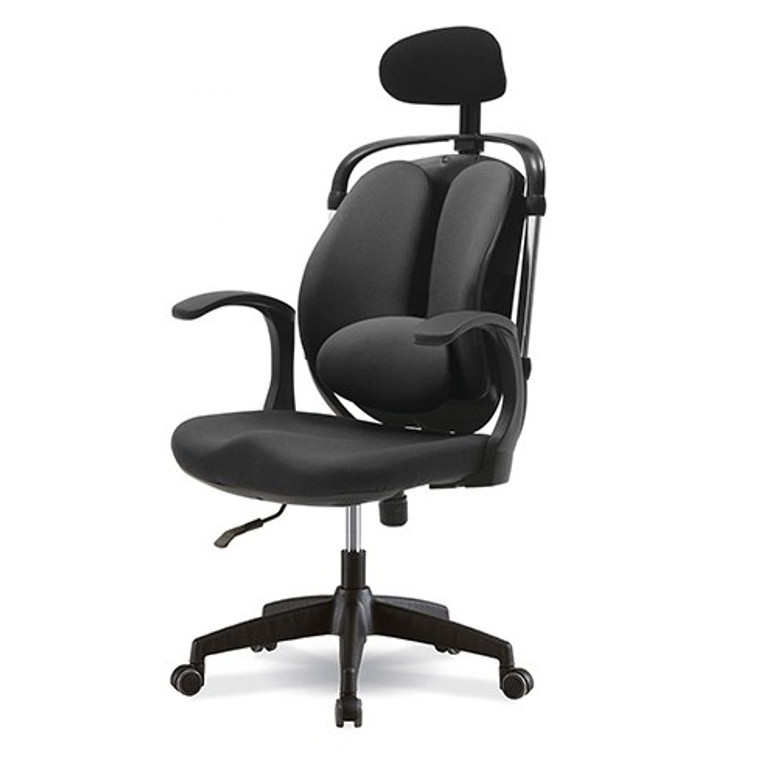 KLIIG LARGE DUALBACK (Economical duo backrests chair with additional lumbar support. Suits all users.)