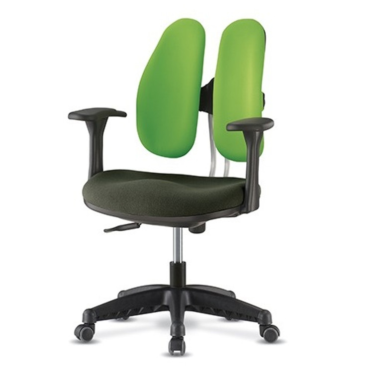 ANI DUAL PLUS CHAIR (Space saving, economical duo backrests chair with great back support.)