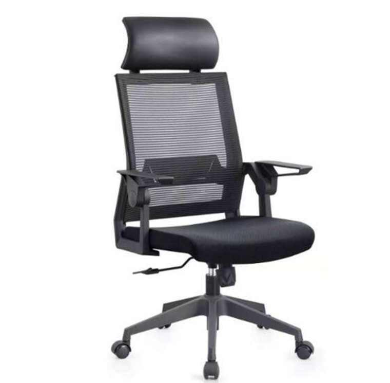 [READY STOCK!] KLIIG FLIP ECO WITH HEADREST (The most economical high back chair with flip arms, headrest and excellent back support.)
