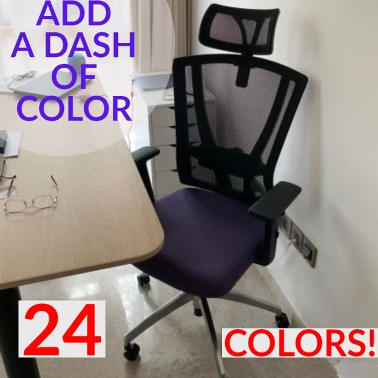[READY STOCK!] KLIIG BESTSELLER MODEL A (Back support test 10/10,  FULLY CUSTOMISABLE ergonomic mesh chair that you can BUY WITHOUT TRYING. 24 vibrant colors to choose from!