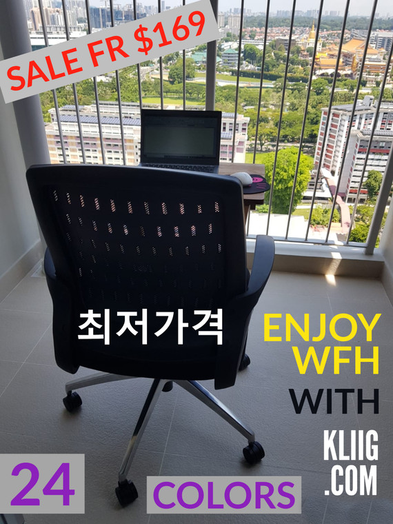 [READY STOCK!] SUPERHERO: KLIIG IRONMESH (The strongest Kliig superhero. A low cost, high quality, high specs mesh chair for large users or those who want a roomy feel.)