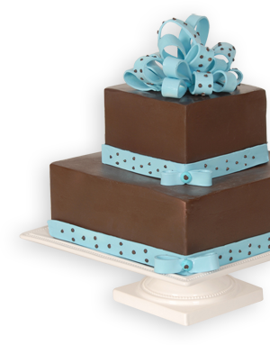Multilayer Cake on Decorative Pedestal