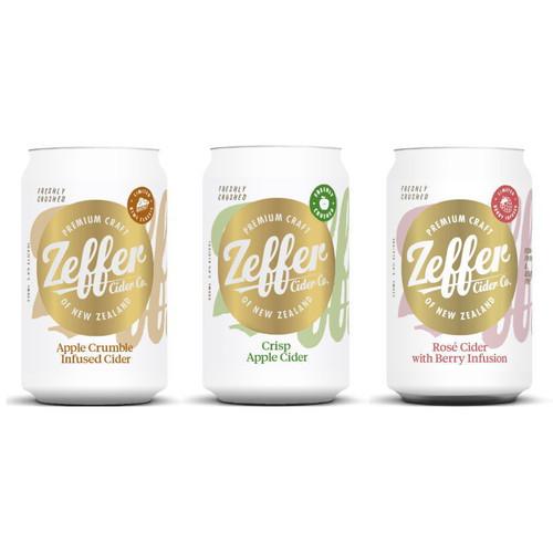 Zeffer Mixed Cider 330ml (6 Cans)
