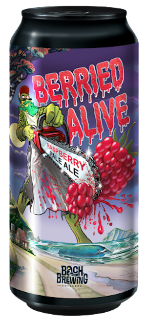 Bach Brewing Berried Alive Raspberry IPA 440ml