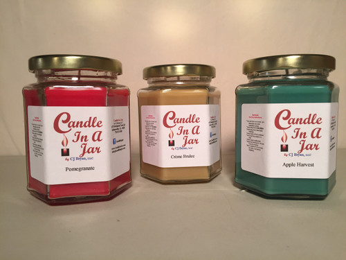 3 - 10 oz Jar Candles for $25