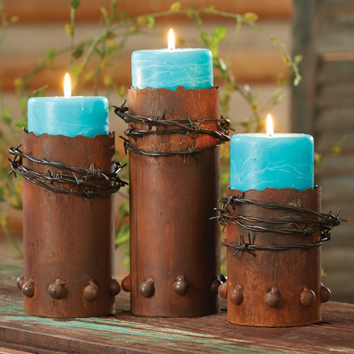 Western Candle Holders