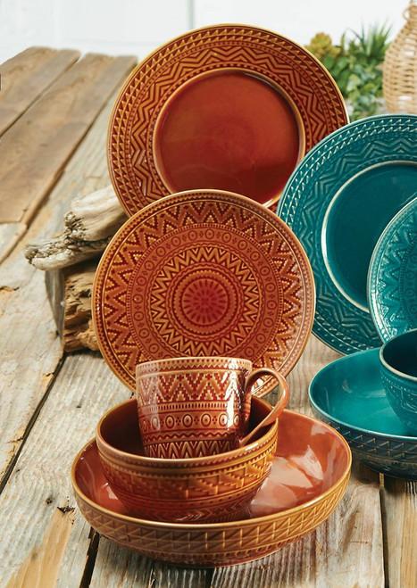 Sedona Sunrise Terracotta Dinnerware Collection