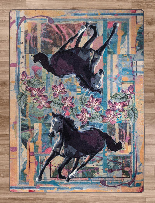 Running Horse Rug Collection