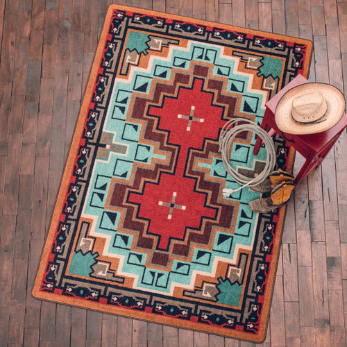 Reservations Turquoise Rug Collection
