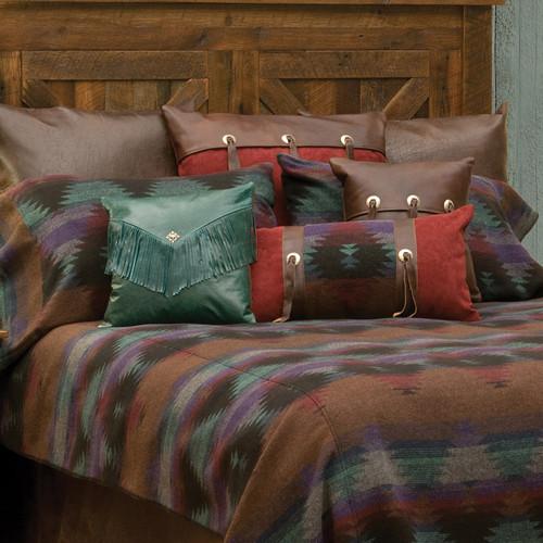 Painted Desert III Pillows & Shams