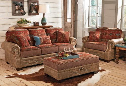 Ranchero Southwestern Sofa Collection