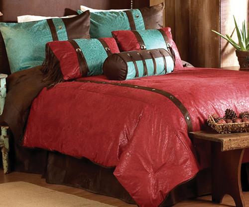 Cheyenne Red Bedding Collection
