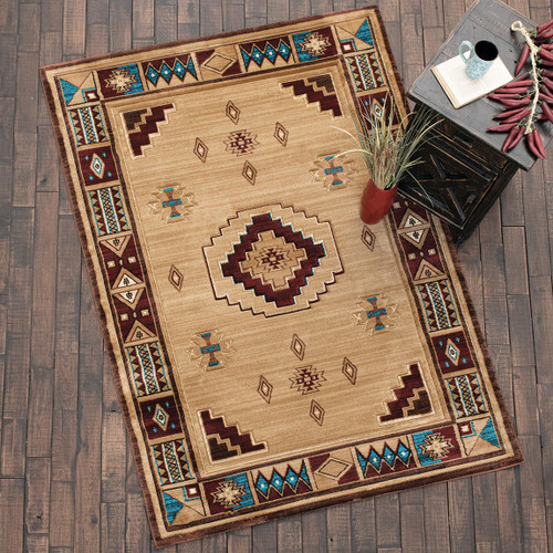 Native Vibes Southwest Beige Rug Collection
