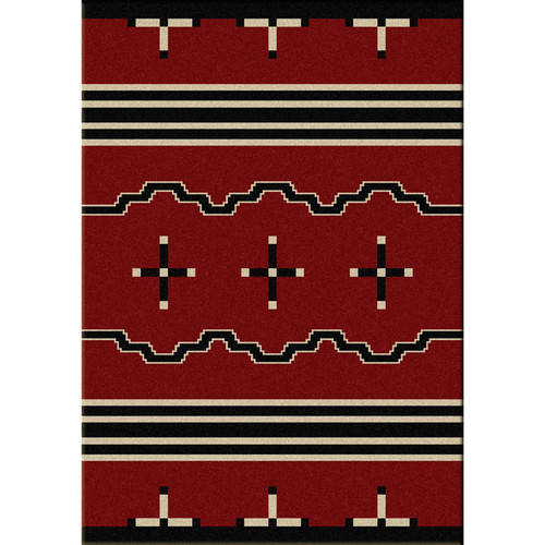 Big Chief Red Rug Collection