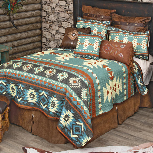 Sky Diamonds Quilt Bedding Collection