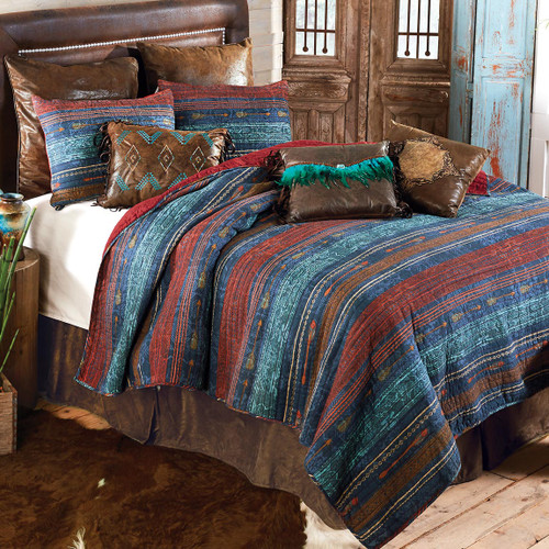 Sunset Arrows Quilt Bedding Collection