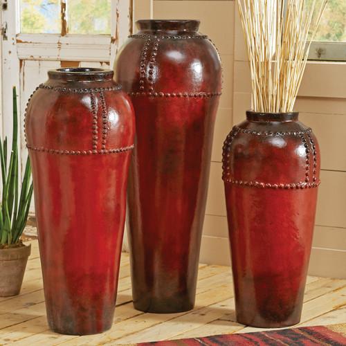 Nail Head Vases