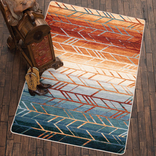 Sunset Arrows Rug Collection