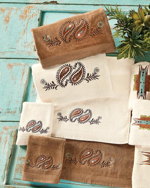 Spiced Paisley Towel Sets